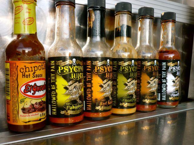 chilli sauces