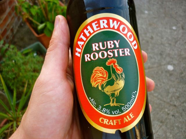 Hatherway ruby rooster