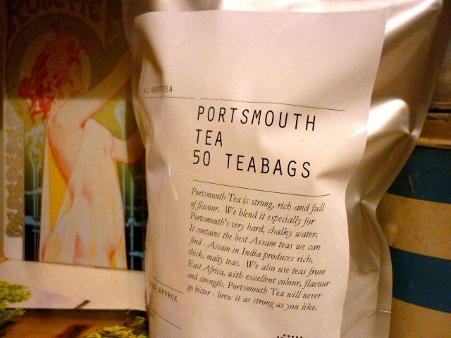 portsmouth tea