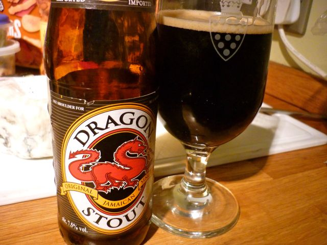 red dragon stout