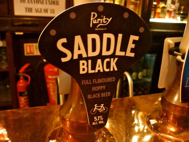 black saddle