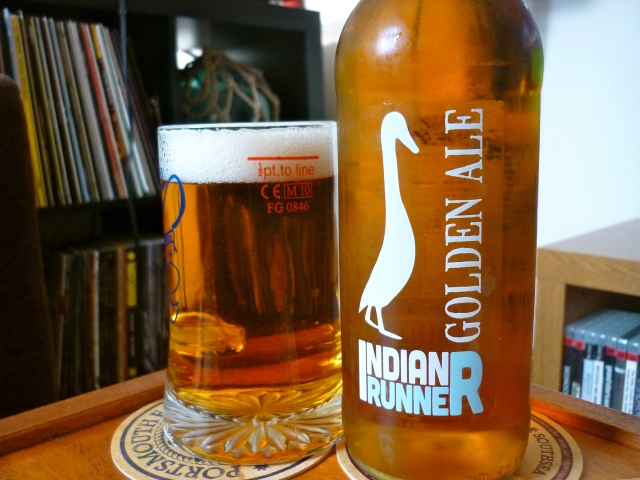 Indian Runner Premium Golden Ale