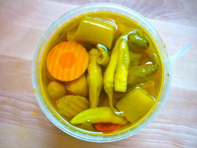 pickled veg